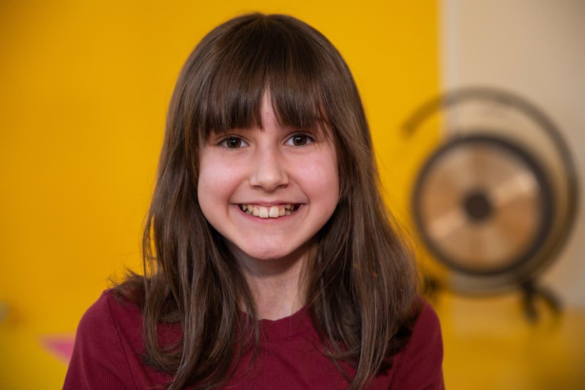 Ada Zanotto, 11-vuotias