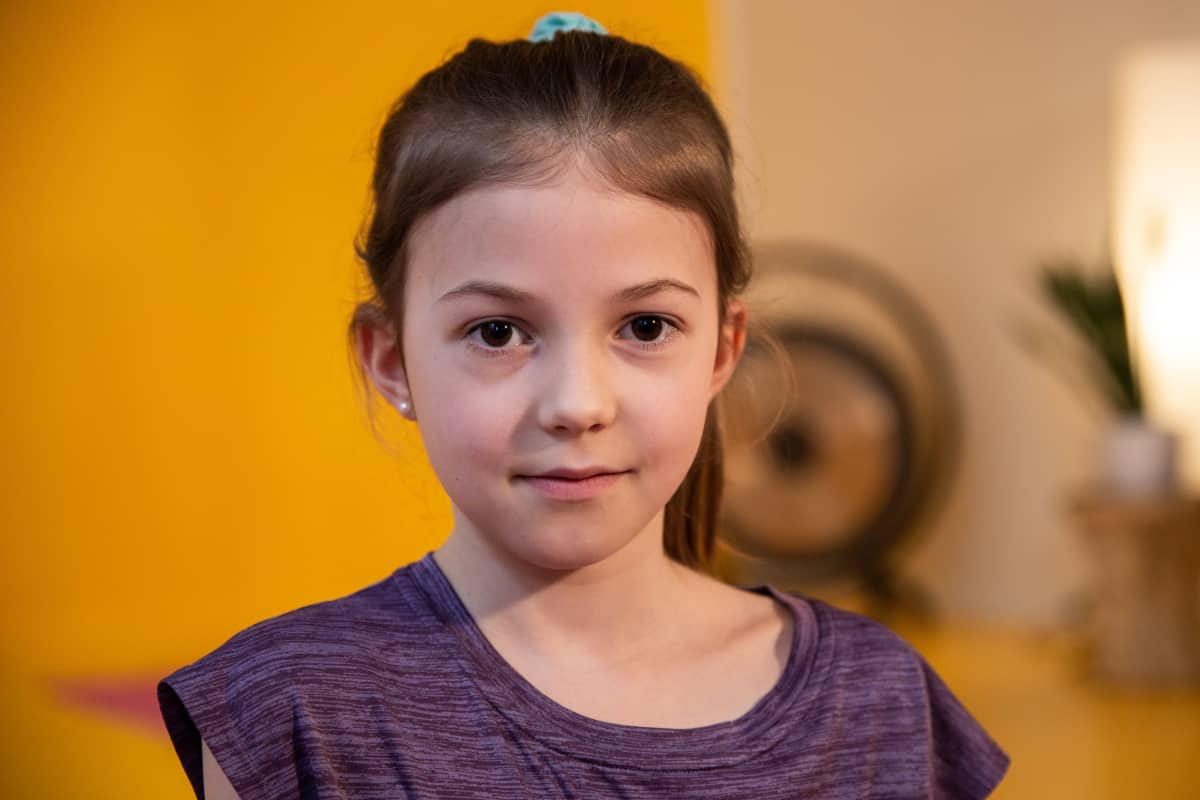 Natalie Dahber, 8-vuotias