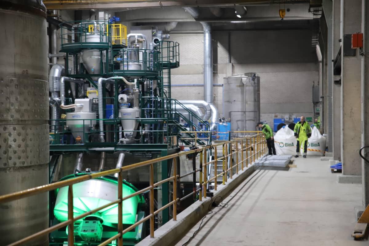 Sunilan vuonna 2019 avattu kierrätyslannoitetehdas