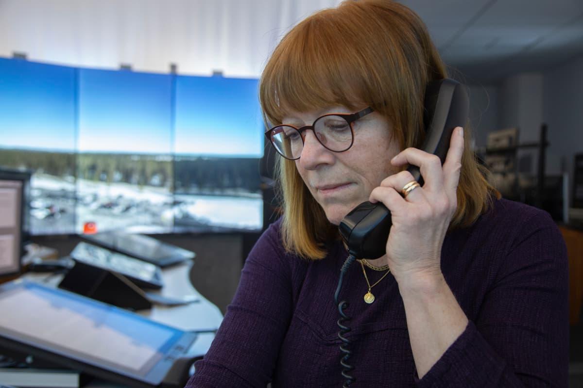 etälennonjohto Sundsvall remote tower Ingrid