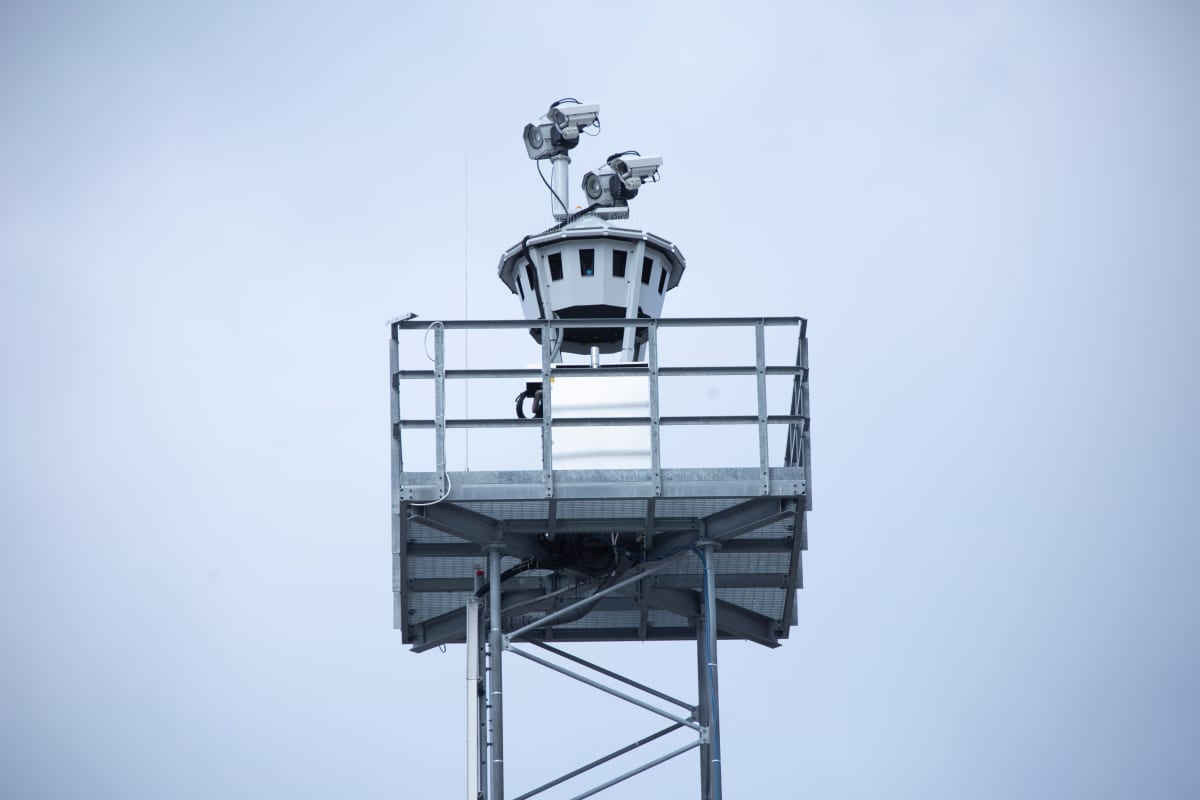 etälennonjohto, remote tower