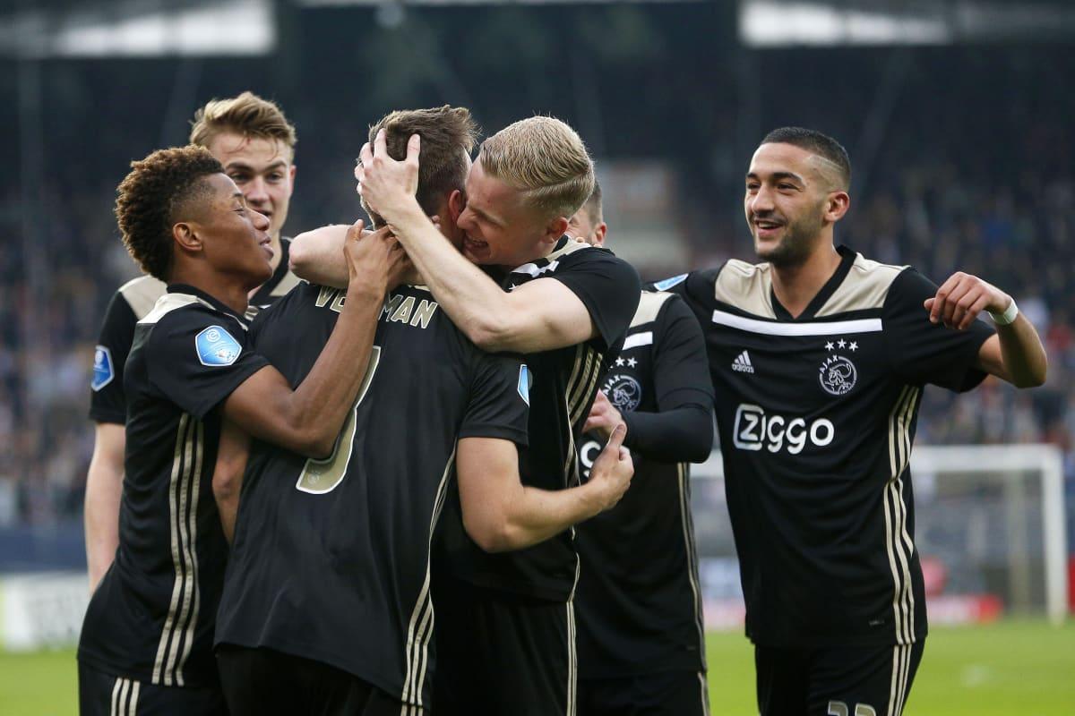 Ajaxin pelaajia 2019
