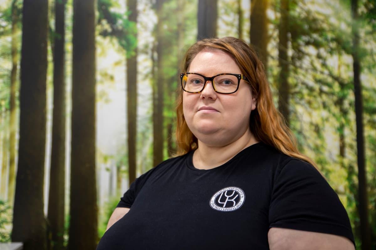 Laura Hartin-Kouhia, Suomen Lymfahoito ry puheenjohtaja.