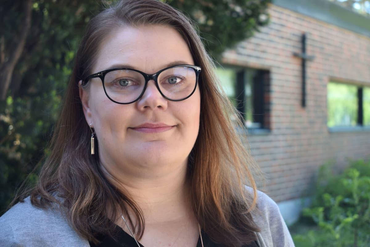 Turun ja Kaarinan seurakuntayhtymän varhaiskasvatuksen johtaja Katja Vanhatalo
