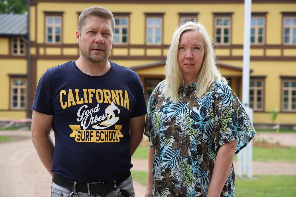 Harri Sivén ja Tuija Linberg.