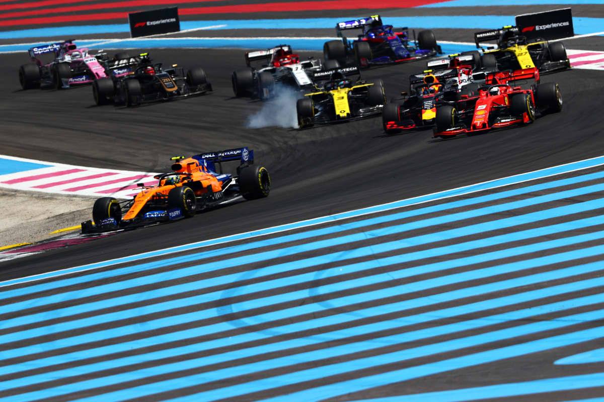 Startti Ranska GP 2019