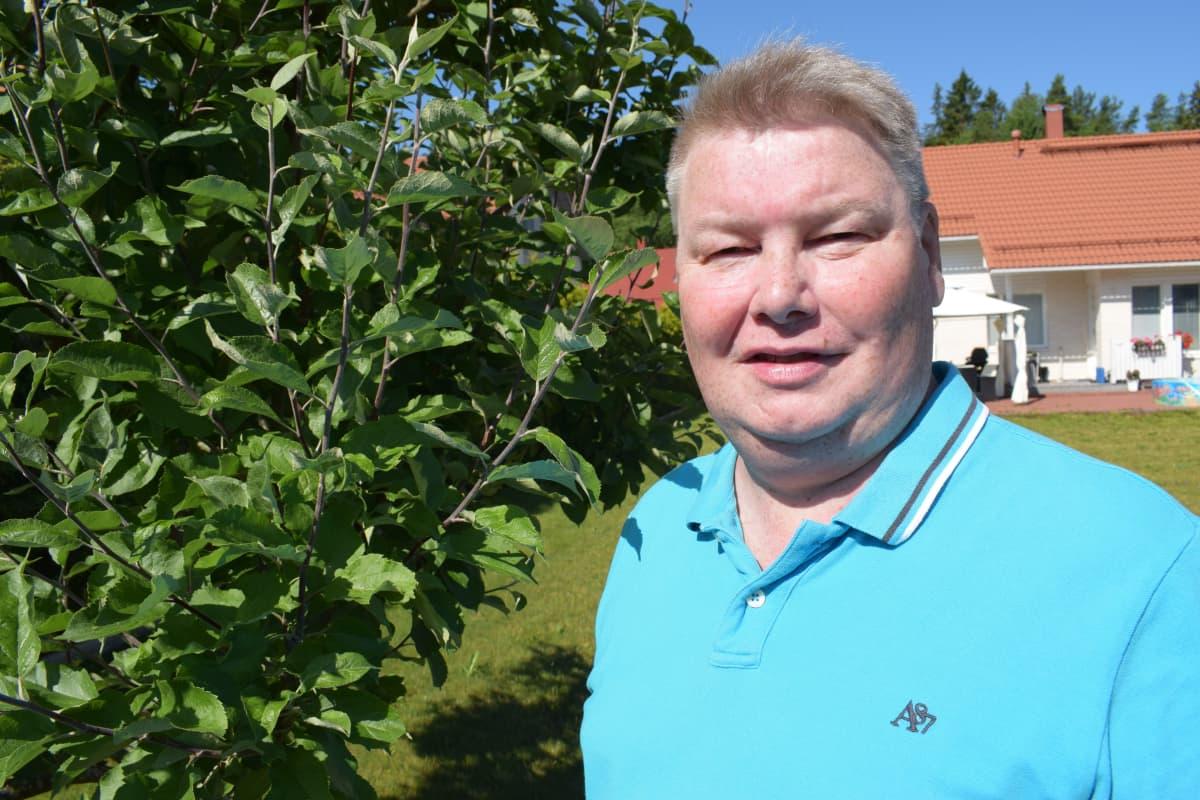 Eturauhassyöpää sairastava Janne Tamminen