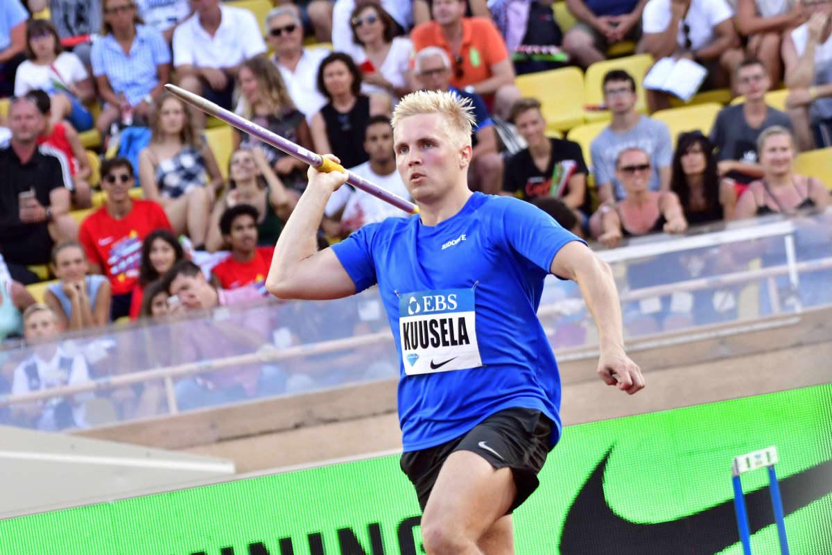 Toni Kuusela debytoi Timanttiliigassa Monacossa 12. heinäkuuta.