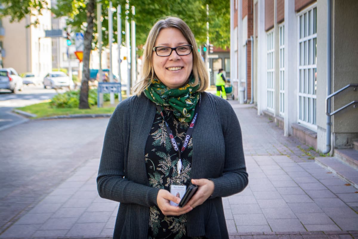 Kuopionkaupungin energia neuvoja Mari Turunen