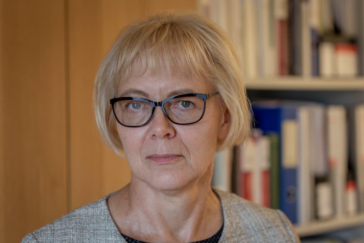 Helsingin hallinto-oikeuden ylituomari Liisa Heikkilä