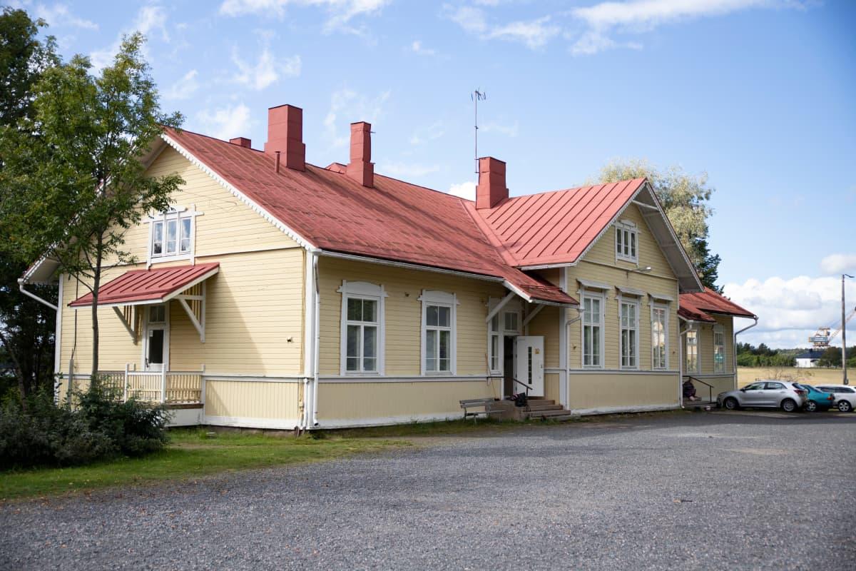 Teijon koulun rakennus