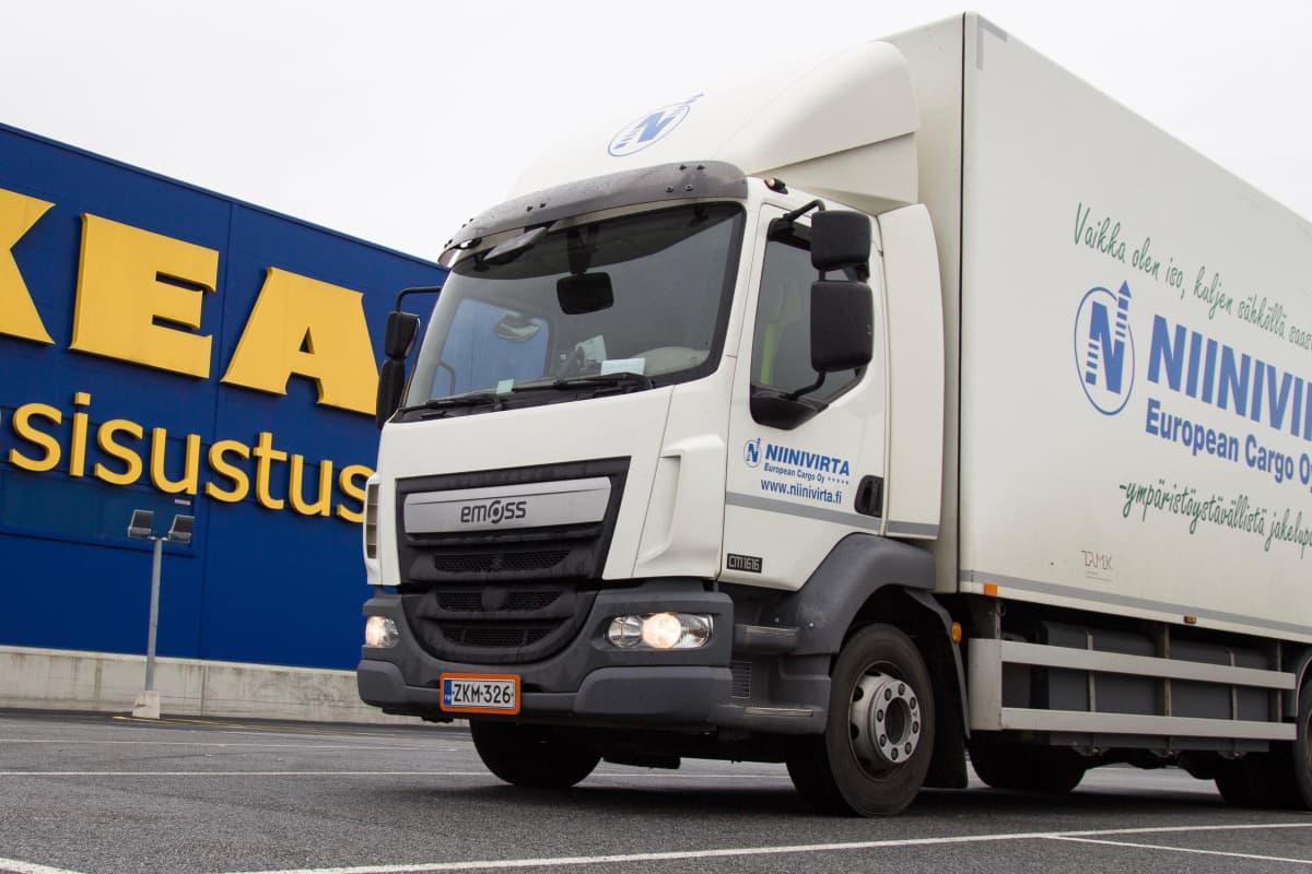 Ikean Sähkökuorma-auto