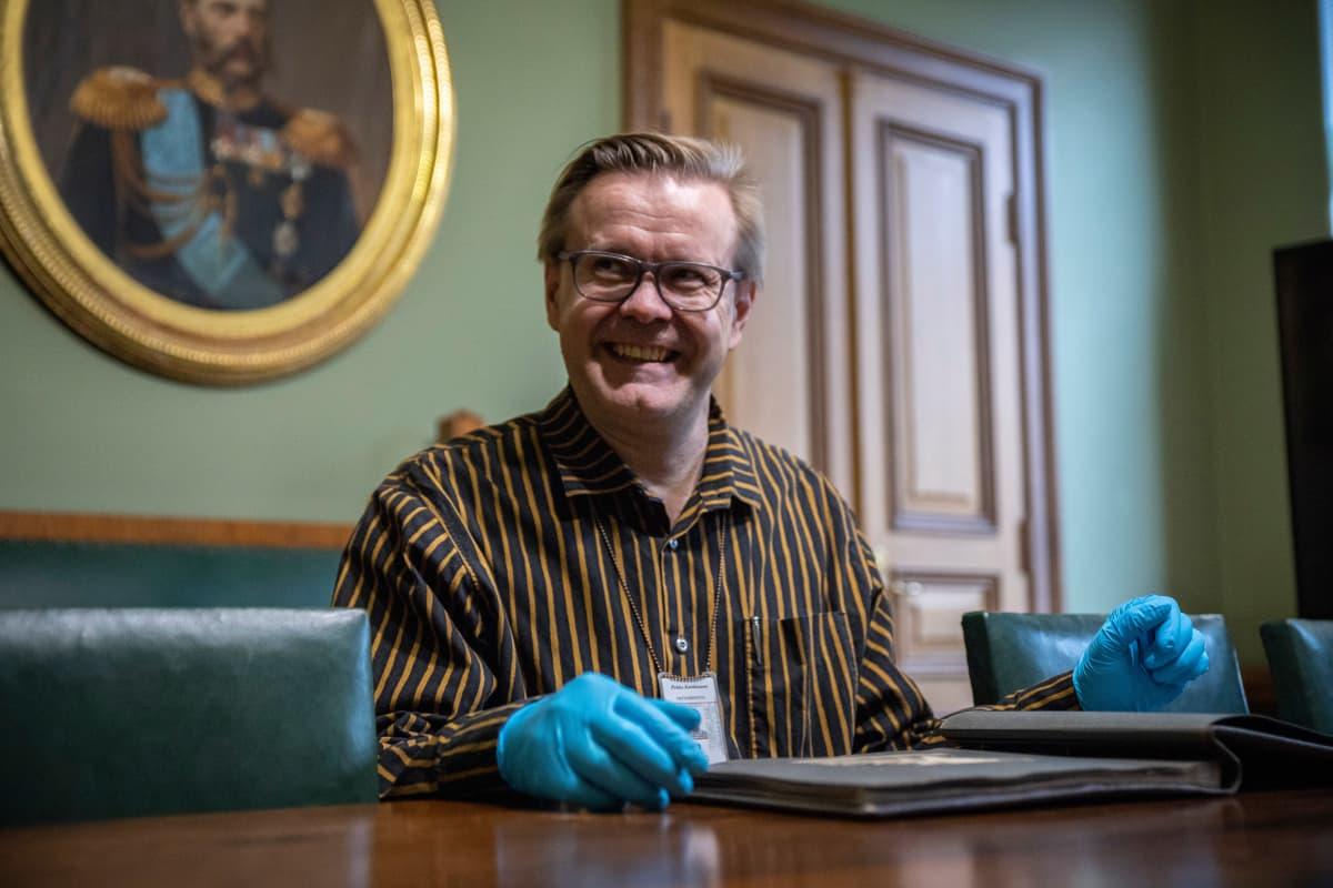 Kuopion kulttuurihistoriallisen museon intendentti Pekka Kankkunen