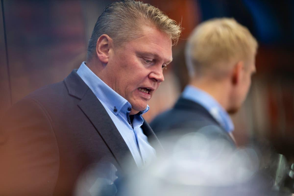 Lukko-valmentaja Pekka Virta