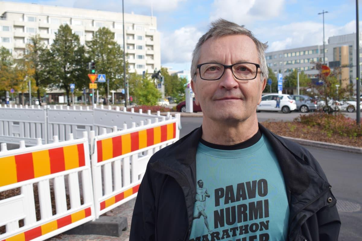 Maratoonari Hannes Honkonen.