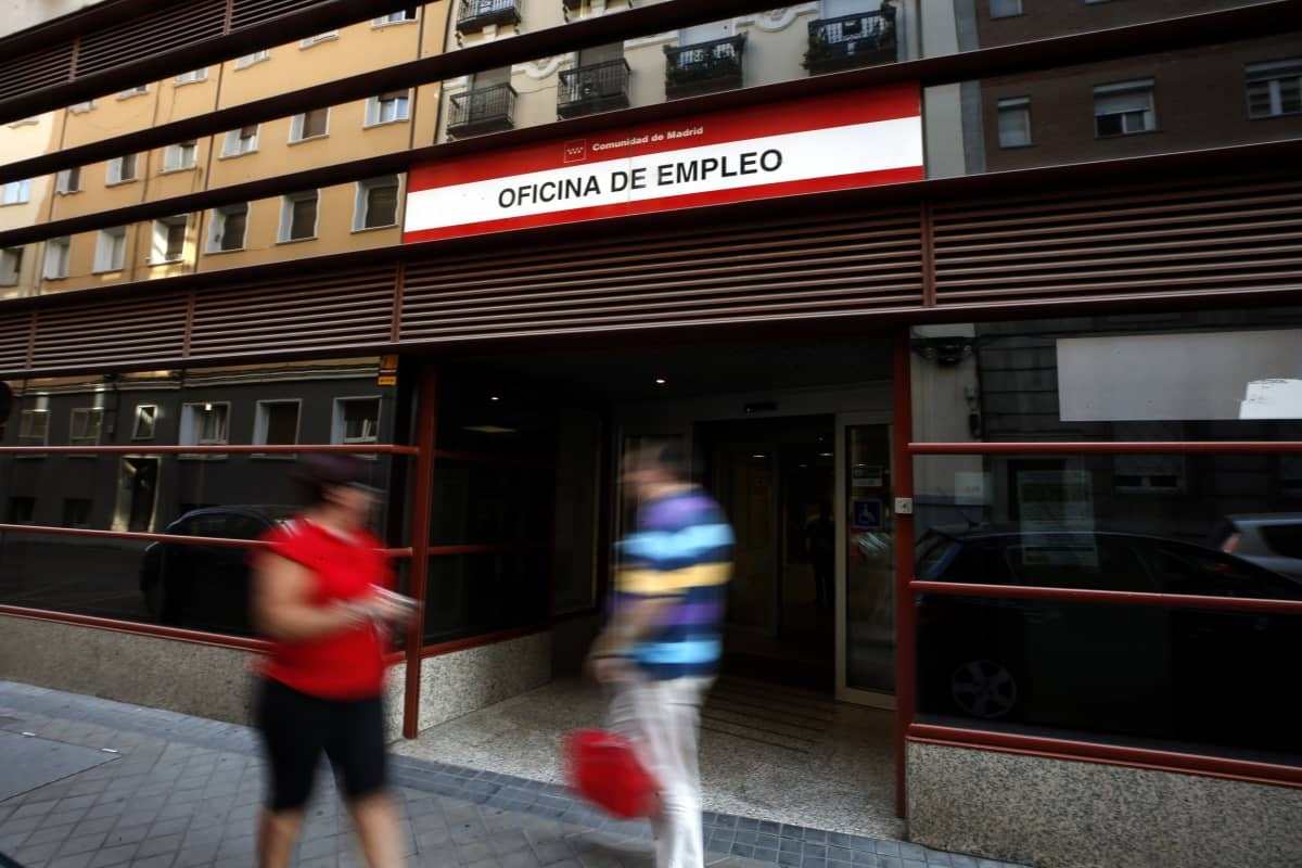 Espanjan työttömyys