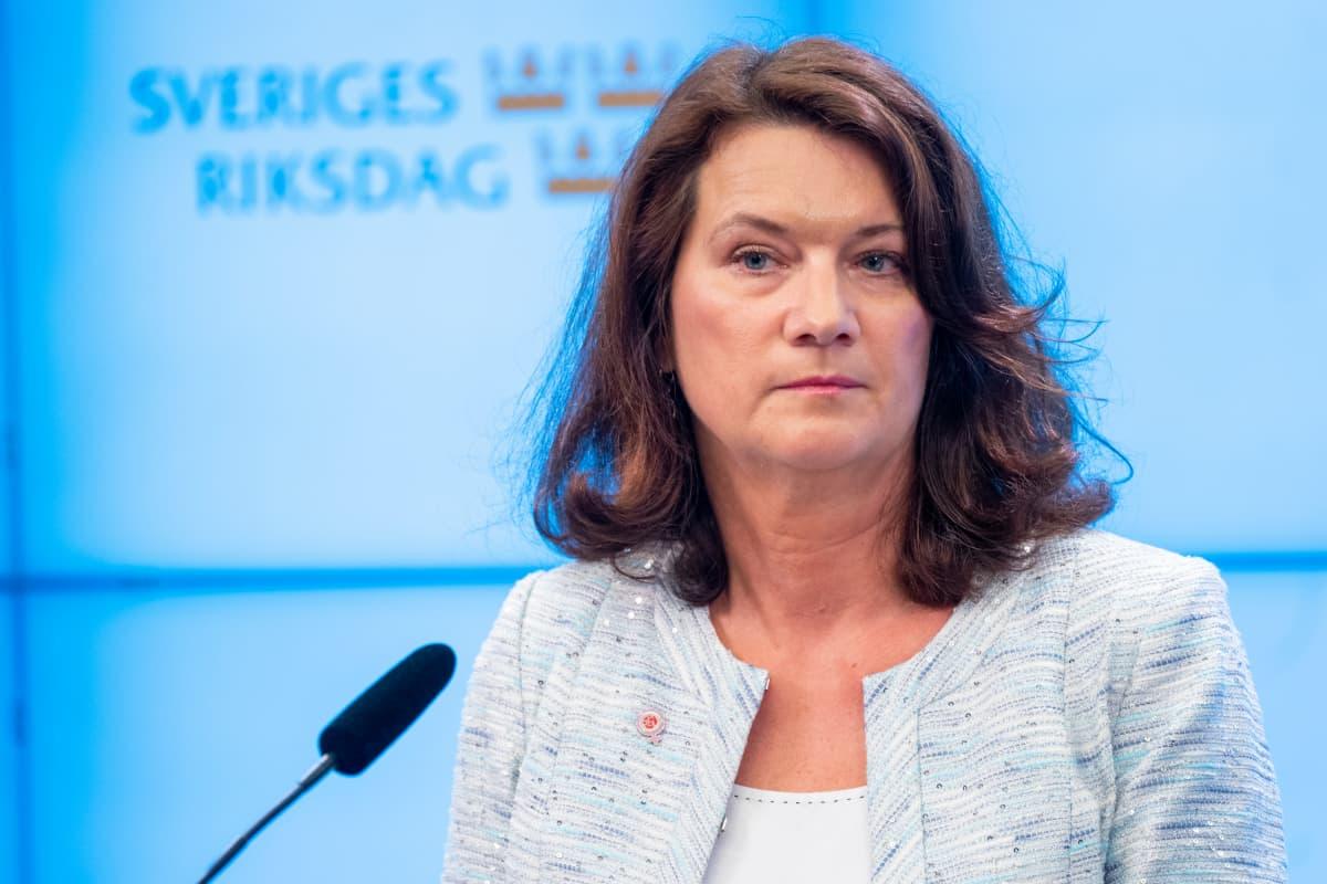 Ruotsin ulkoministeri Ann Linde syyskuussa 2019