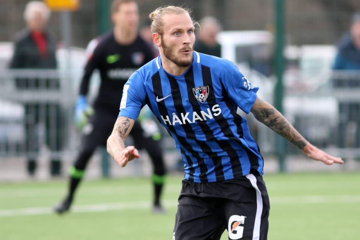 Niko Markkula Inter-paidassa vuonna 2019