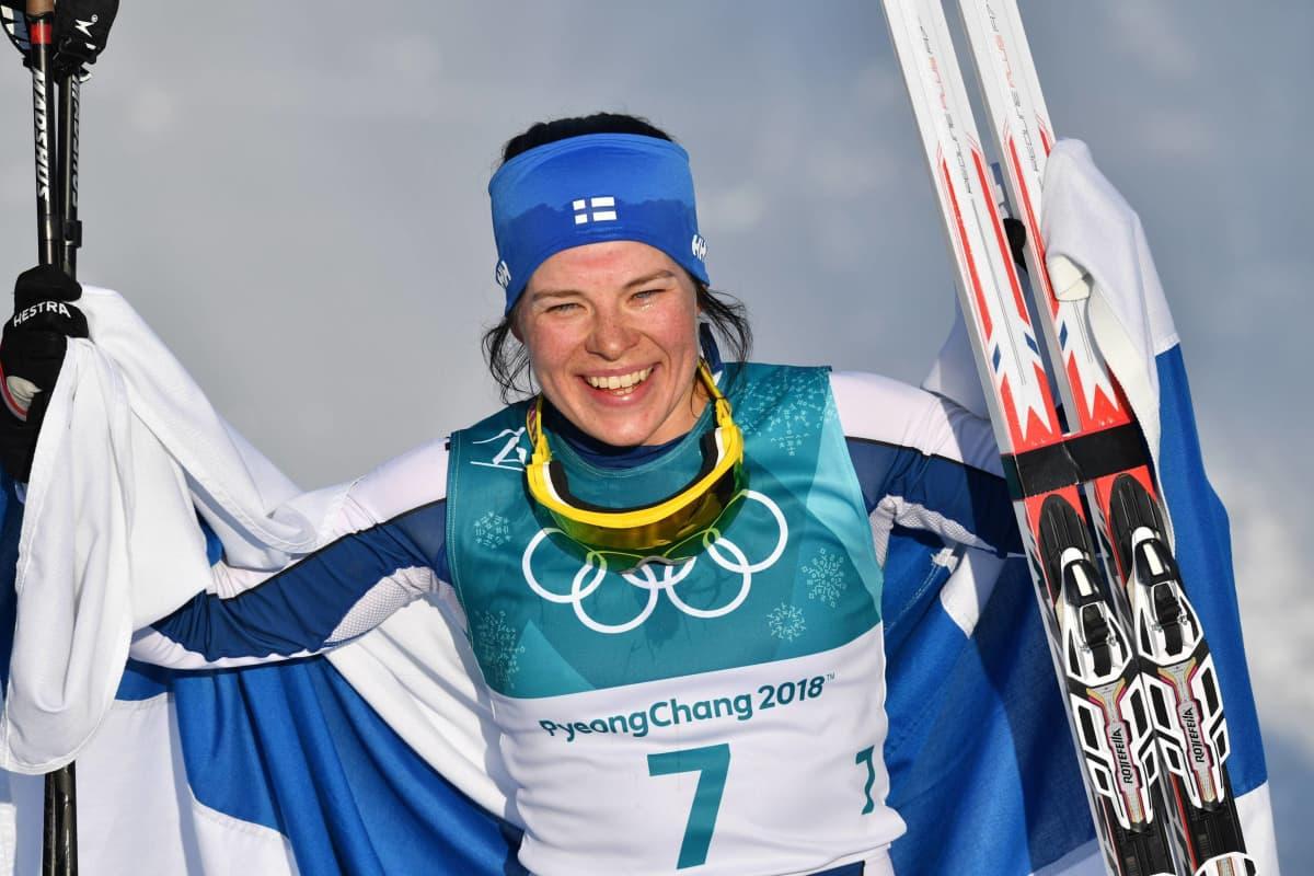 Krista Pärmäkoski saavutti Pyeongchangin talviolympiakisoista kolme henkilökohtaista mitalia. Vastaavaan määrään yksissä olympiakisoissa ylsi edellisen kerran Marja-Liisa Kirvesniemi (o.s. Hämäläinen). Hän voitti kolme kultamitalia Sarajevossa 1984.