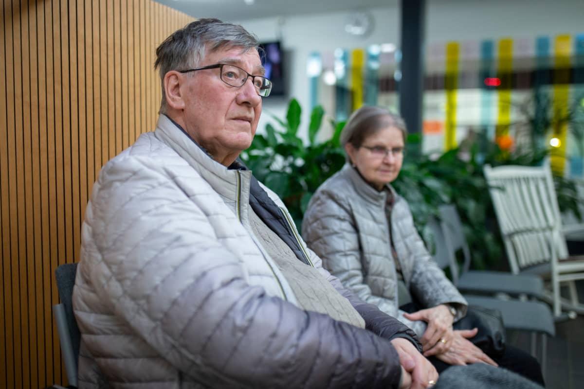 Veikko ja sinikka Inkinen Hämeenlinnan terveysasemalla