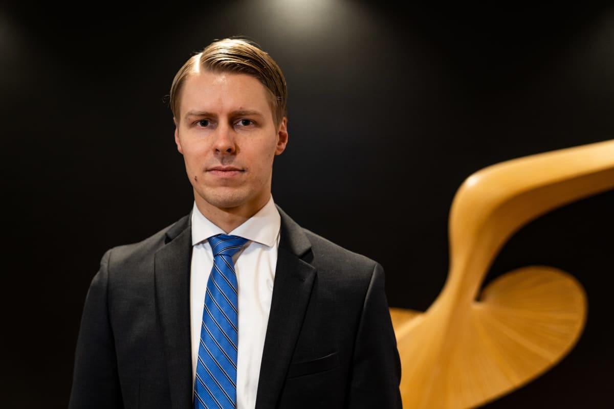 Antti Saari työskentelee Nordeassa päästrategina