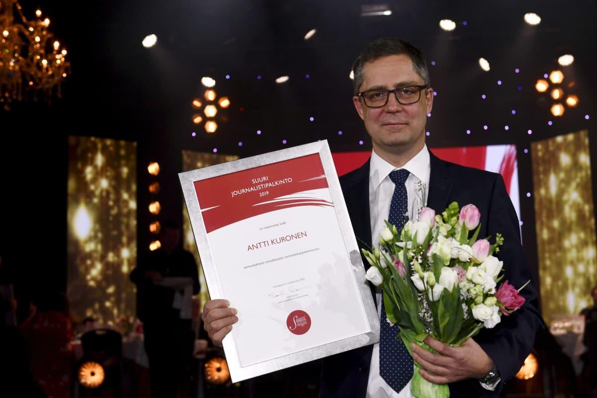 Antti Kuronen on Vuoden journalisti