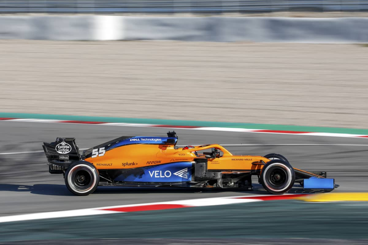 McLarenin F1-auto