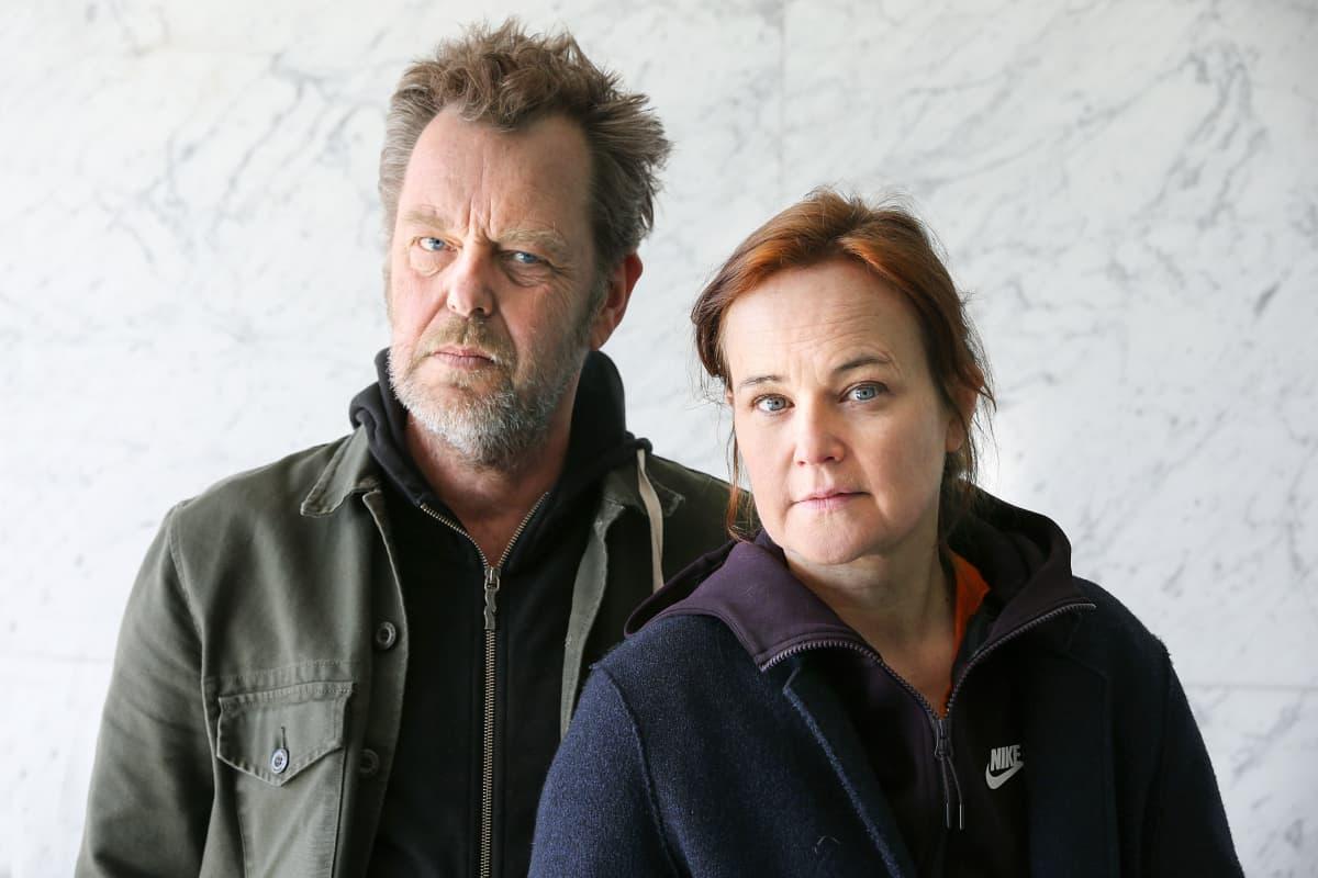 Pål Sletaune ja Sara Johnsen, NRK 22 Juli, käsikirjoittajat