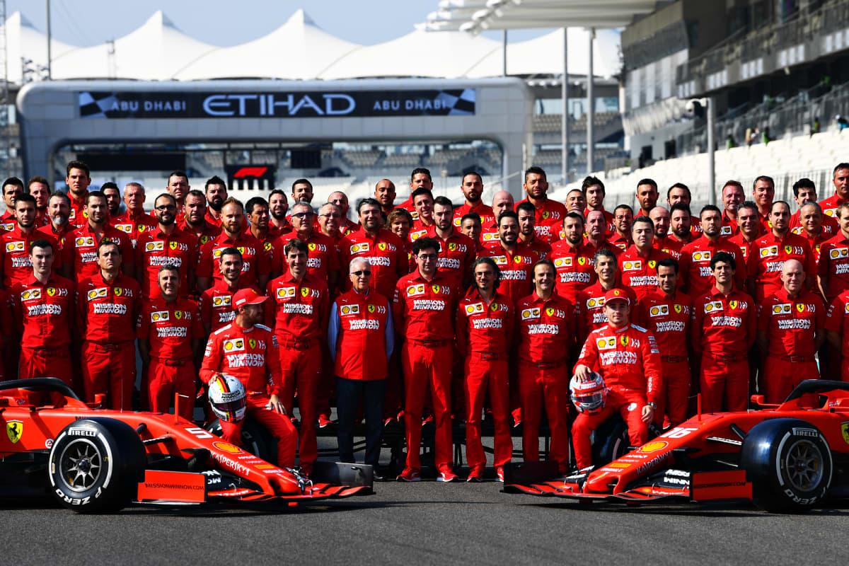 Ferrarin F1 tiimi 2019