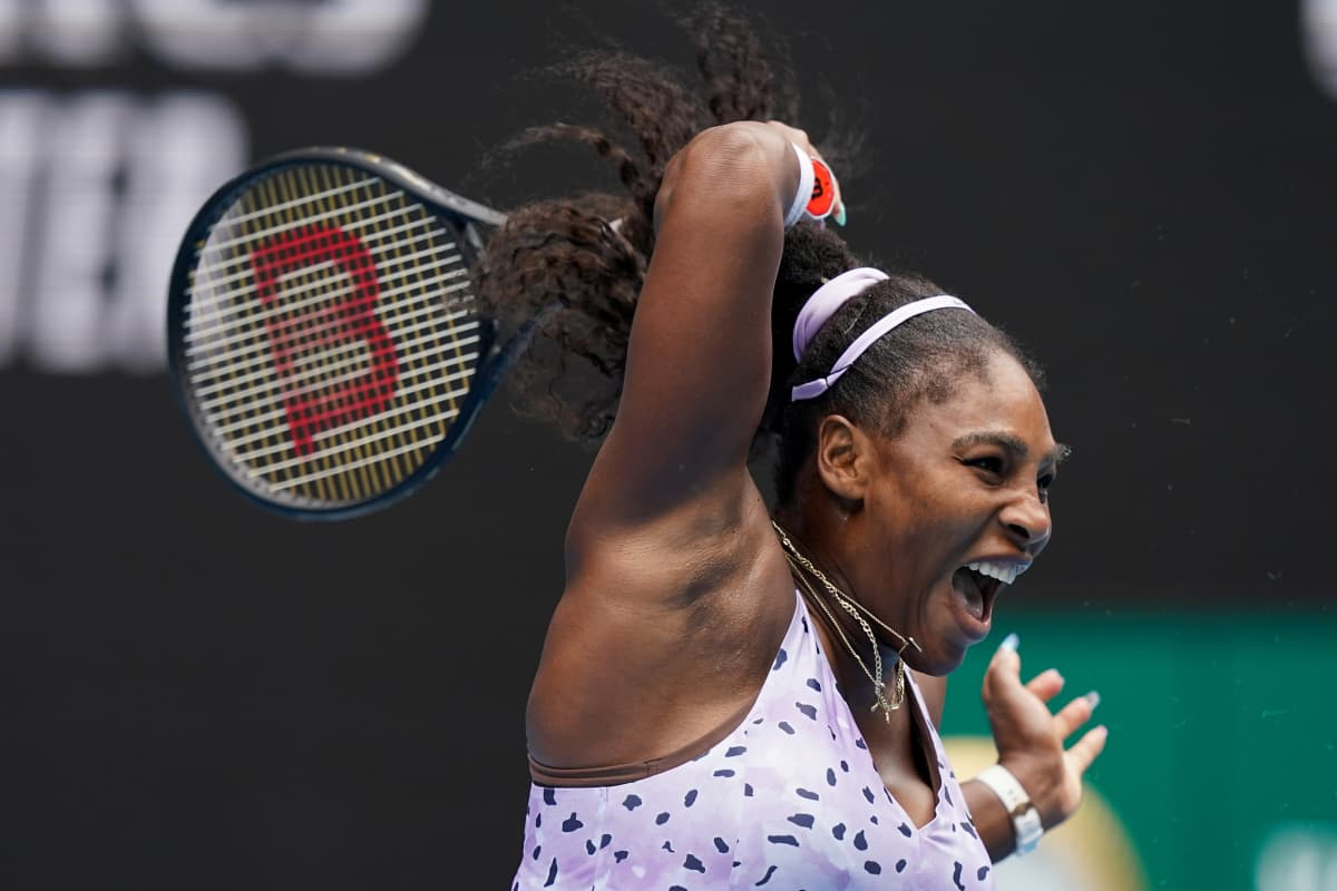 Serena Williams Australian avoimissa