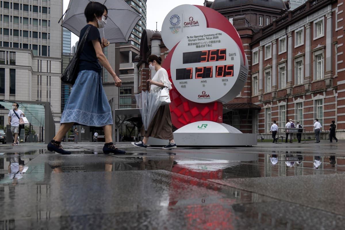 Tokio 2020 laskuri