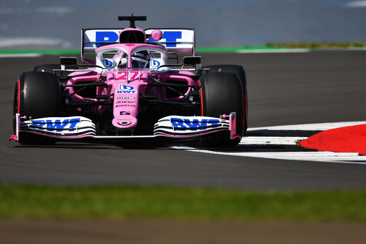 Nico Hülkenberg ajaa Racing Pointin F1-autoa.