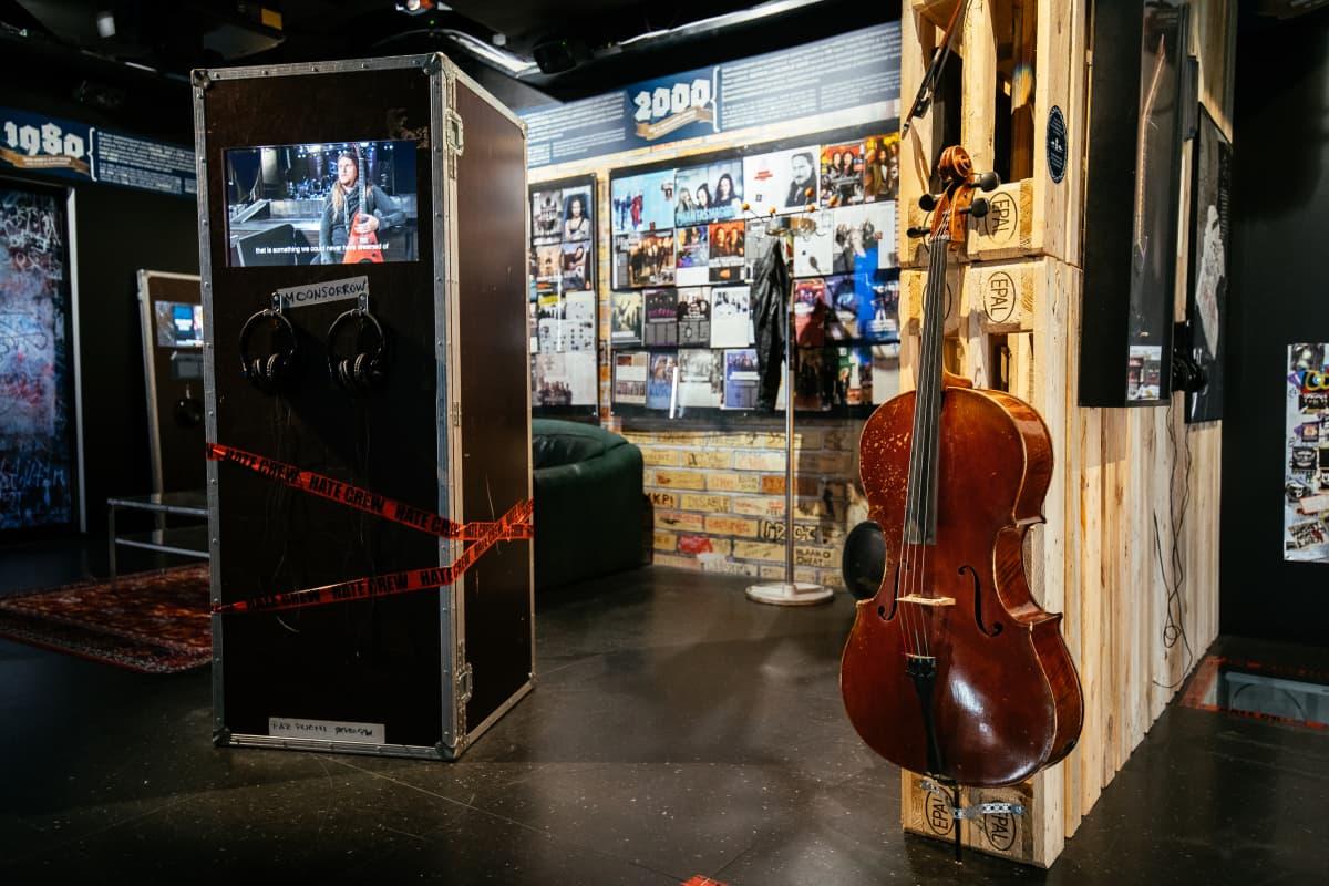 Musiikkimuseo Famen Metal Export näyttely avattiin heinäkuussa 2020.