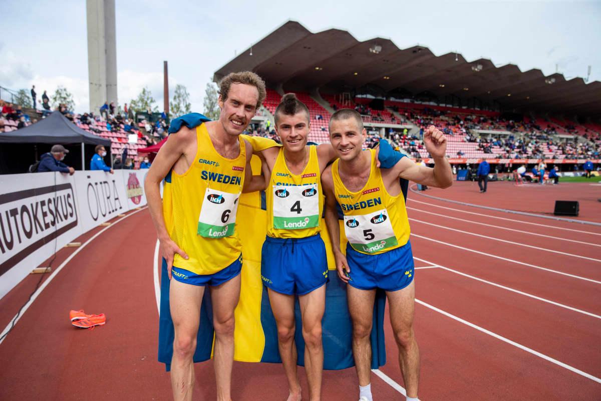 Ruotsi-ottelu 10000m miehet