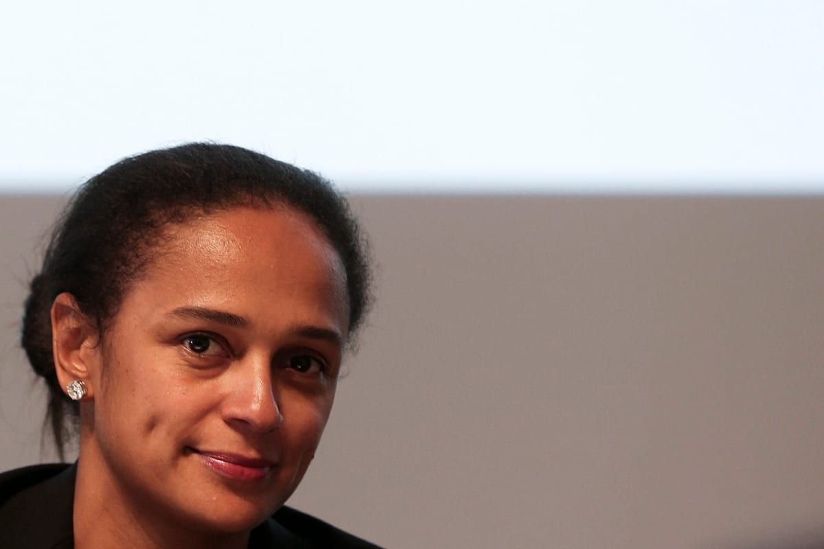 Angolan entisen presidentin tytär Isabel dos Santos