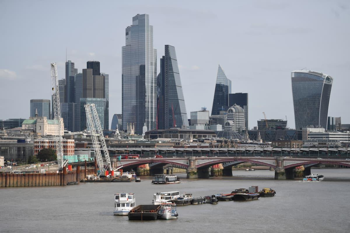 Lontoon City, brexit