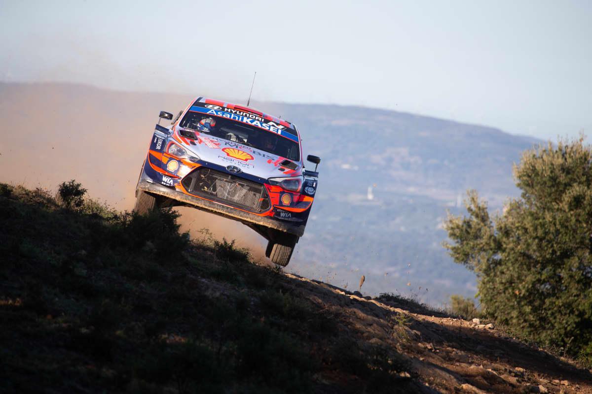 Dani Sordo, Hyundai, Sardinian MM-rallissa.