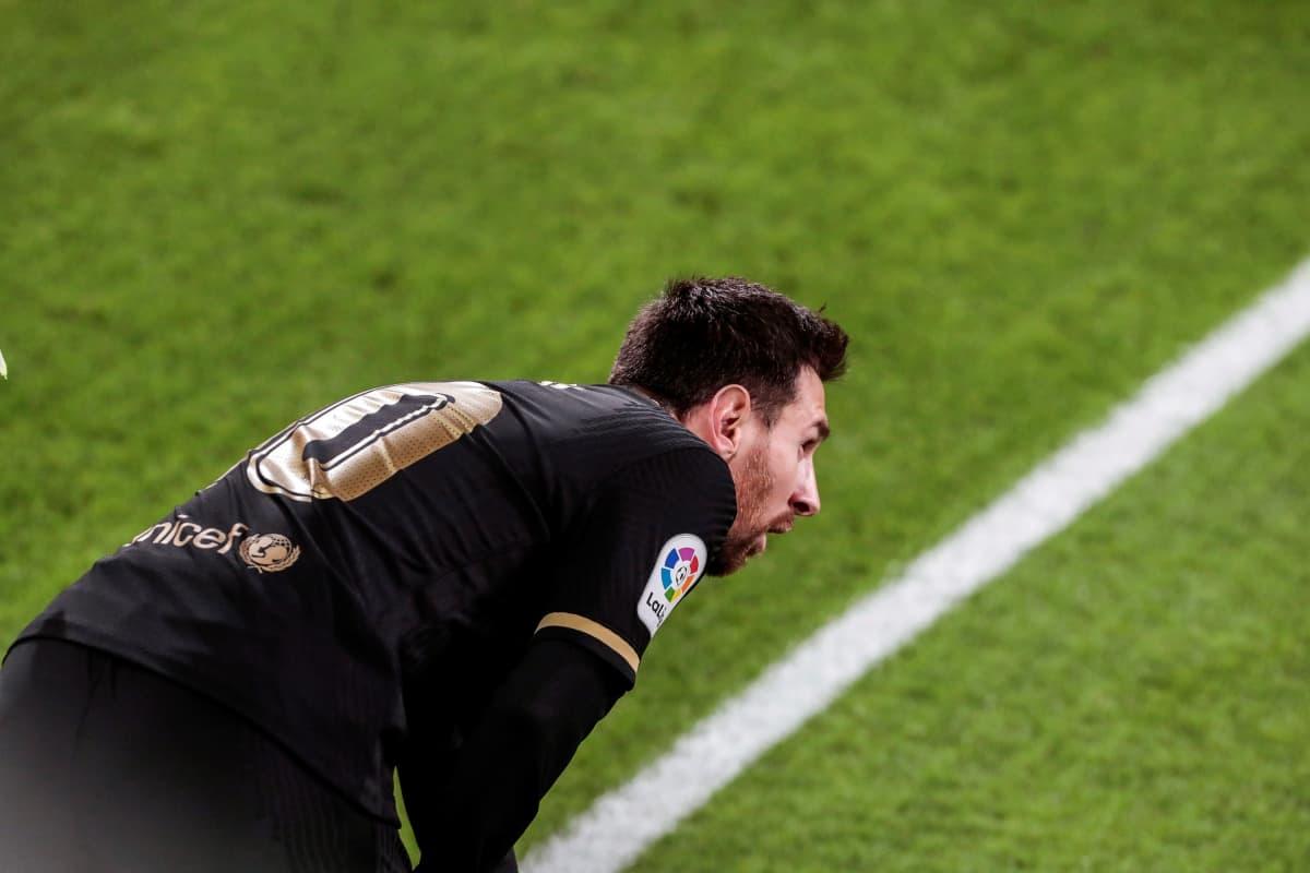 Lionel Messi lähikuvassa.