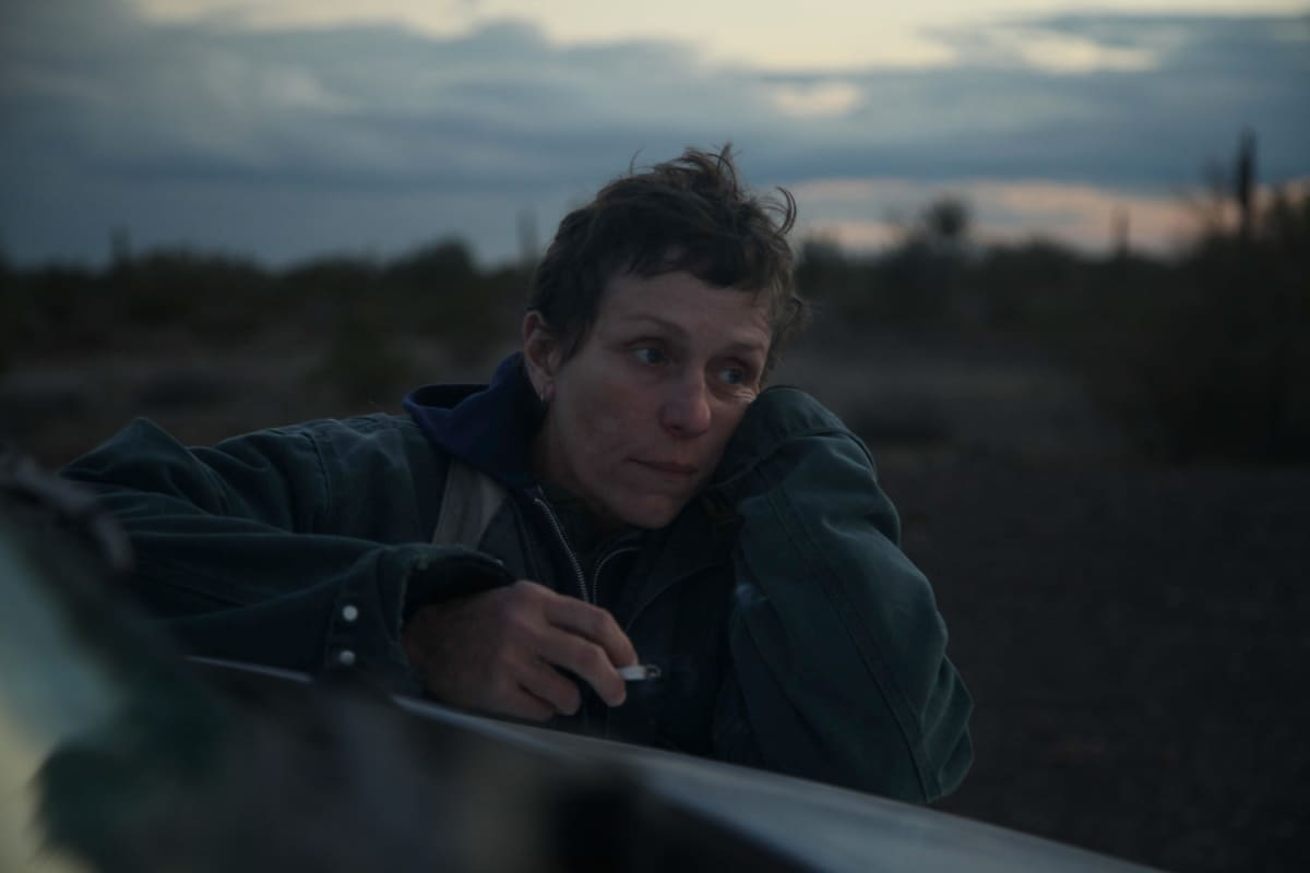 Frances McDormand, Nomadland