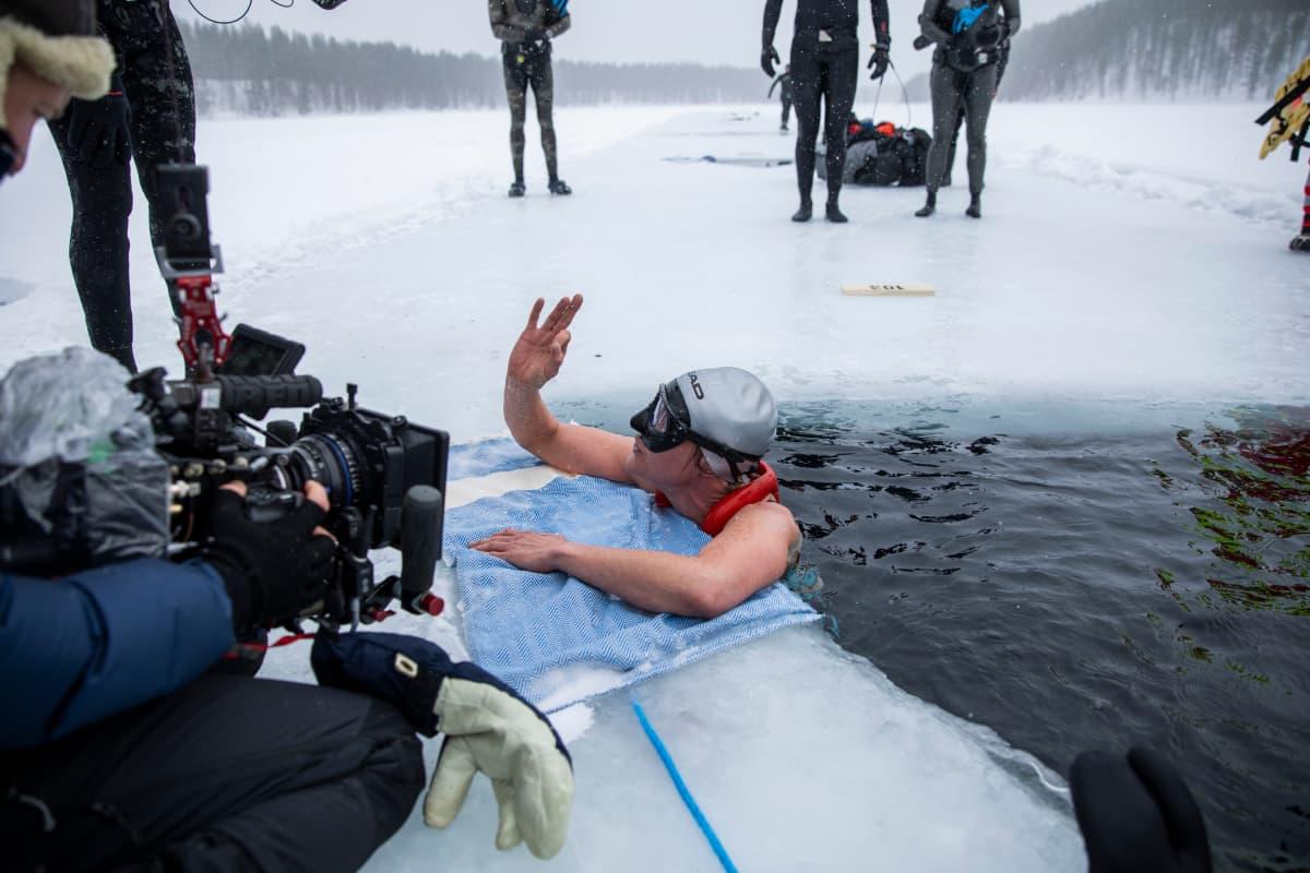 Vapaasukeltaja Johanna Nordblad
