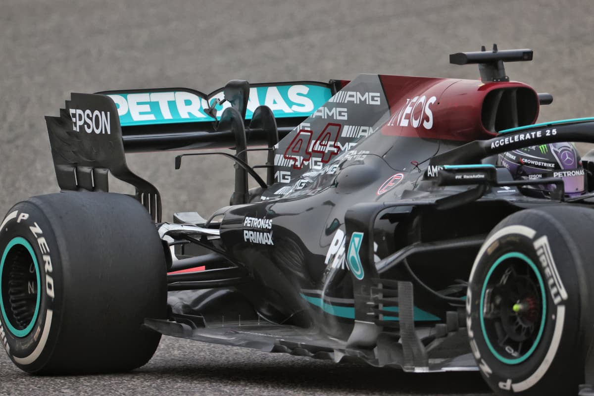 Mercedeksen F1-testit