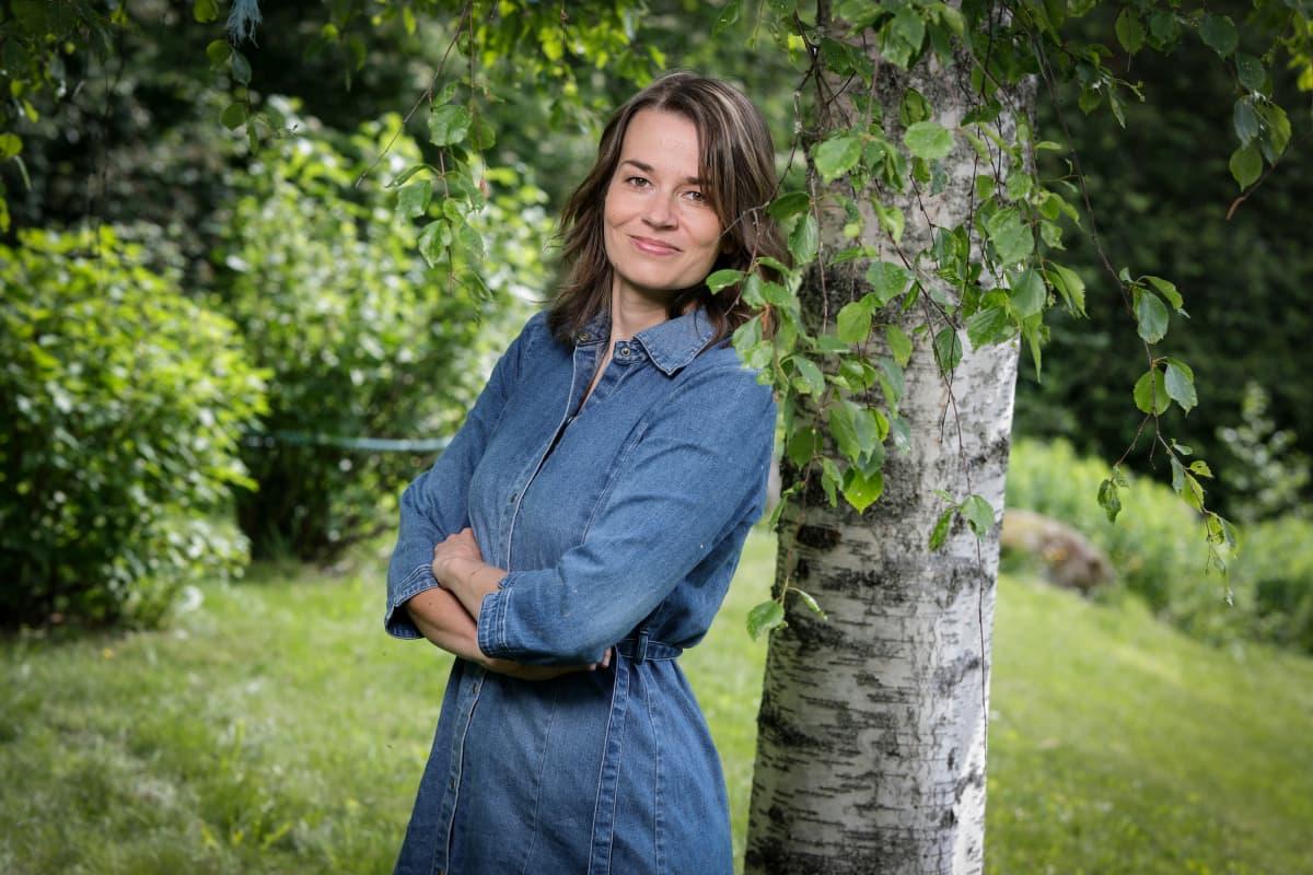 Jyväskylän yliopiston tutkijatohtori, dosentti Matilda Sorkkila.