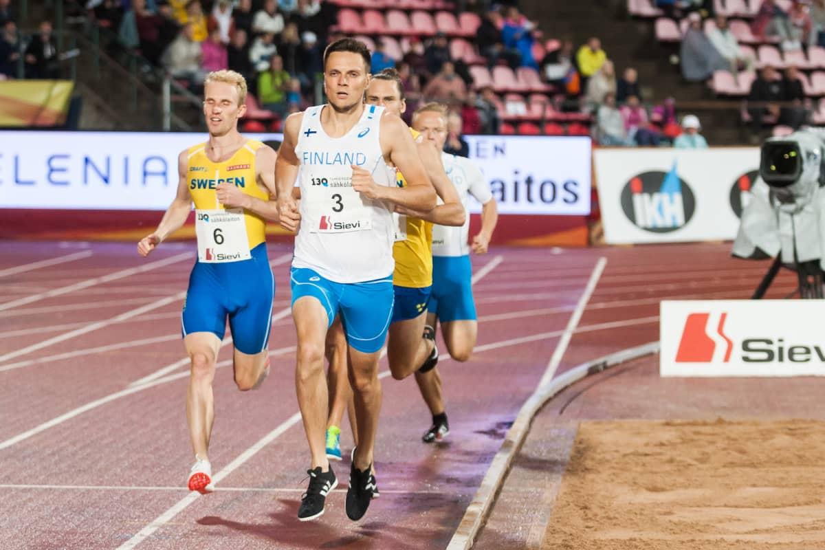 Tuomo Salonen Ruotsi-ottelu 2018
