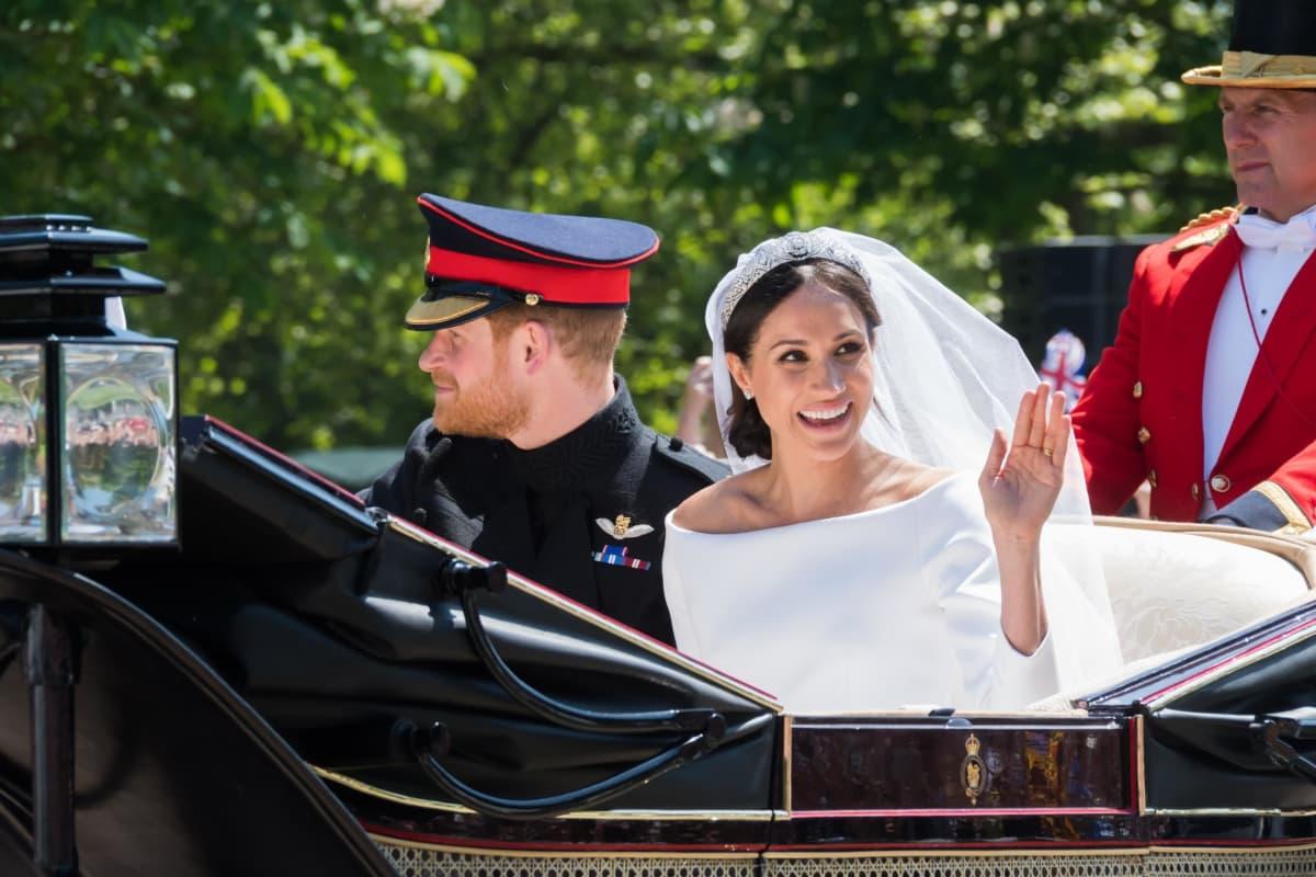 Sussexin herttuaparin häät 19. toukokuuta 2018.
