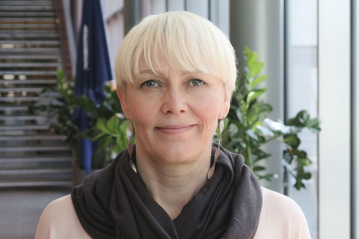 Tutkija Jenita Rauta Polamk