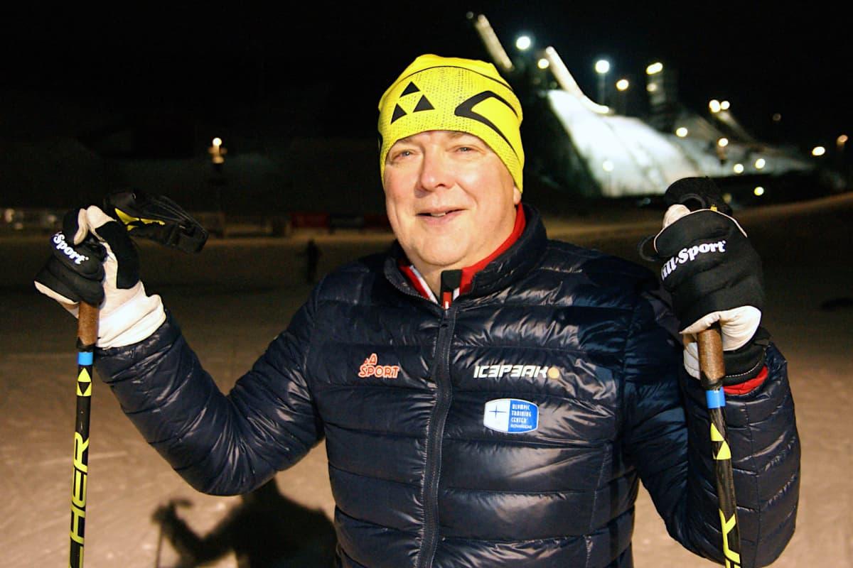 Reijo Jylhä Rovaniemellä.