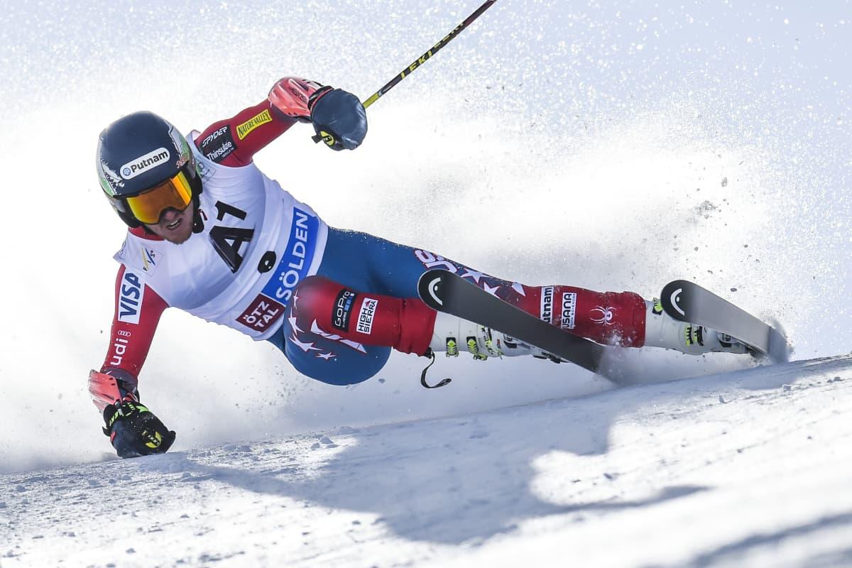 Ted Ligety palasi Söldenin voittajaksi.