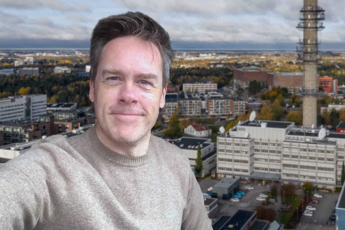 Toimittaja Janne Toivonen