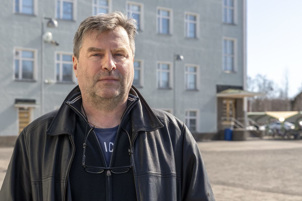Karihaaran koulun rehtori Jukka Vaaramaa