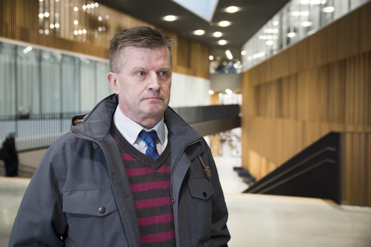 Työ- ja elinkeinoministeriön hallitusneuvos Olli Sorainen